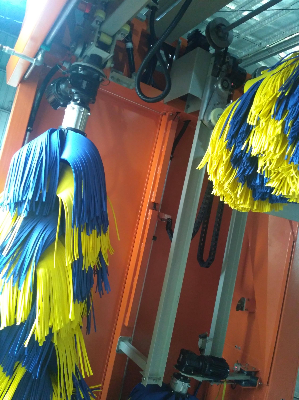 LX-L5SF乐喜龙门往复式5刷独立吹风