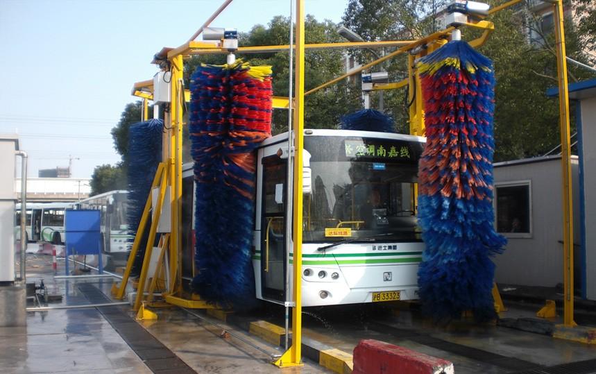 LX-BUS4S通过式巴士洗车机