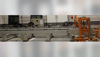 Rail transit axles, wheelset logistics lines