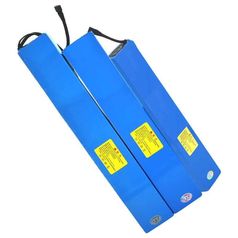 滑板车电池36v电动自行车48v锂电池24伏10ah通用电瓶