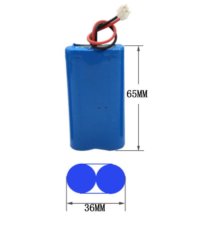 遥控车锂电池玩具电池组7.2V2节2300mah电池定制